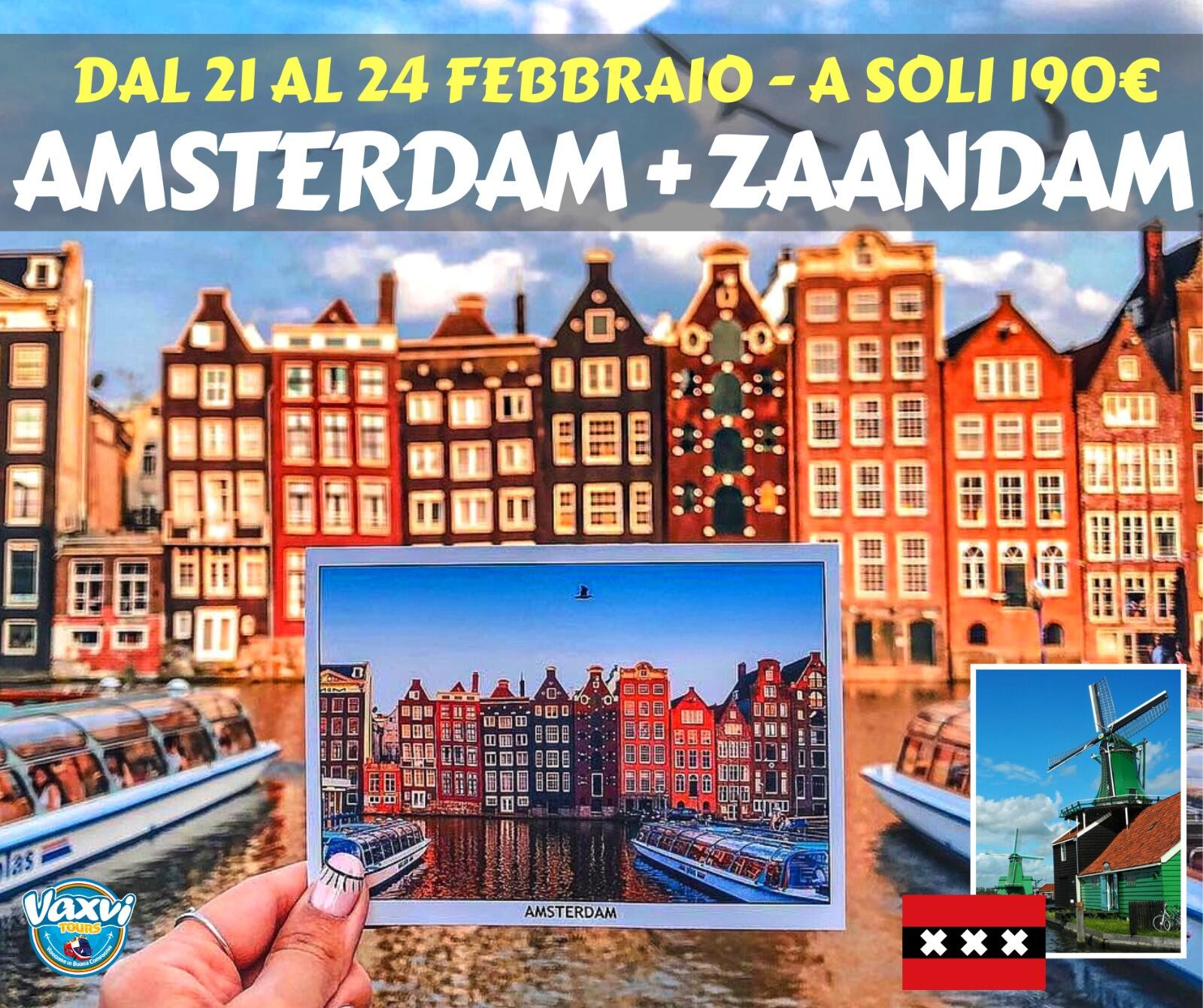 Vaxvi Tour - AMSTERDAM: La Venezia del Nord!